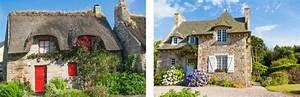 maison perigourdine maison normande maison bretonne With maison toit de chaume 6 les maisons typiques bretonnes