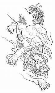 Foo dog head -sketch- by dfmurcia on DeviantArt | Tattoos ...