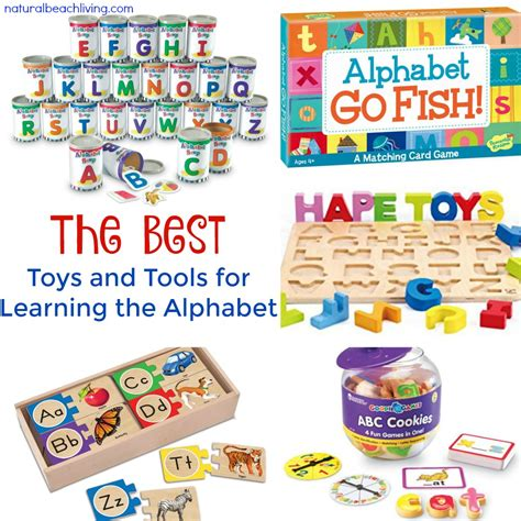 the best toys and tools for learning the alphabet 519 | alphabet toys fb