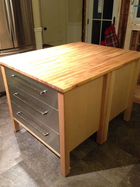 kitchen islands at ikea ikea varde kitchen island with drawers roselawnlutheran