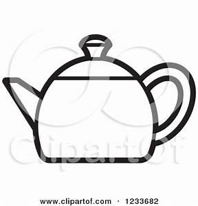 Teapot Clipart Black And White | Clipart Panda - Free ...
