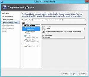 creating generation 1 virtual machine templates on scvmm With hyper v documents