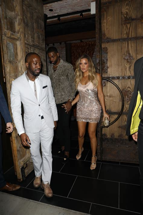 KHLOE KARDASHIAN Leaves Her 33rd Birthday Party in West ...
