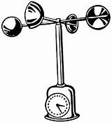 Anemometer Clipart Wind Clip Speed Vector Measure Cliparts Library Apparently Dictionary Found sketch template
