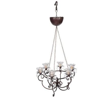Battery Chandelier by Battery Operated Hanging Chandelier W Led Light