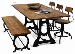 Table Et Chaise Bistrot : table et chaise bistrot latest decoration cuisine style ~ Teatrodelosmanantiales.com Idées de Décoration