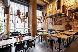Star Burger: An Industrial Restaurant Design – Adorable Home