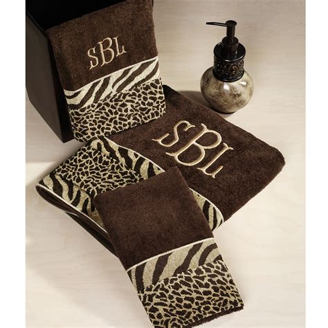 perfect animal print bath towels homesfeed