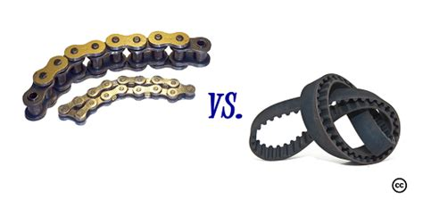 Difference Between Chain Drive And Belt Drive