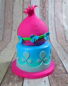 Trolls Cake - CakeCentral com