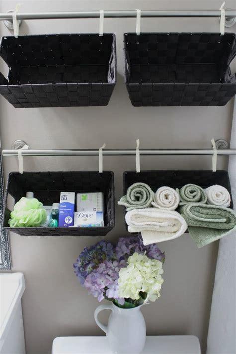 awesome diy bathroom organization ideas diy projects