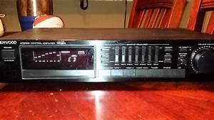 Kenwood Stereo Control Amplifier Kc-208