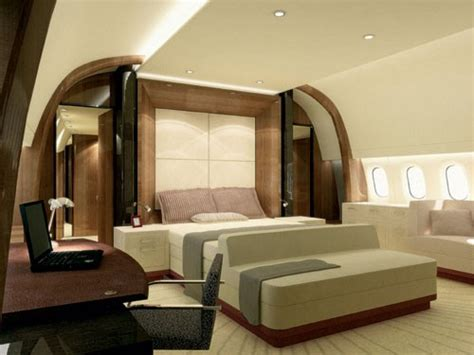 Flying House Luxury Airplane Interiors