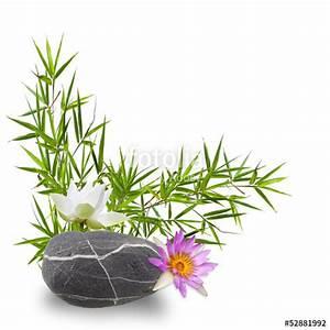 Stickers Salle De Bain Zen : bambou fleurs de lotus et galet zen photo libre de droits sur la banque d 39 images ~ Dode.kayakingforconservation.com Idées de Décoration