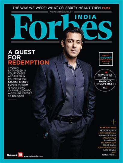 Forbes Salman India Khan Magazine Magazines December