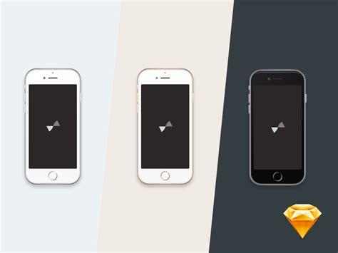 tiny iphone 6 and 6 plus sketch freebie free