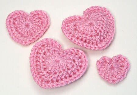 crochet hearts  ways