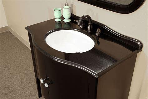 bellaterra home 203037 black bathroom vanity black