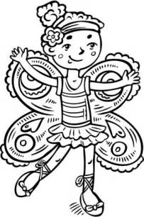 girl dressed    fairy princess coloring page  printable coloring pages