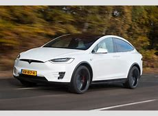 Tesla Model X 2016 UK review pictures Auto Express