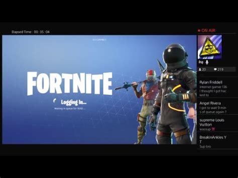 fortnite login issues livecant log  youtube