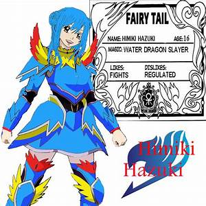 Fairy Tail OC Character by Juviawater on DeviantArt