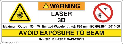 laser light warning label understanding symbols laser labeling nema currents