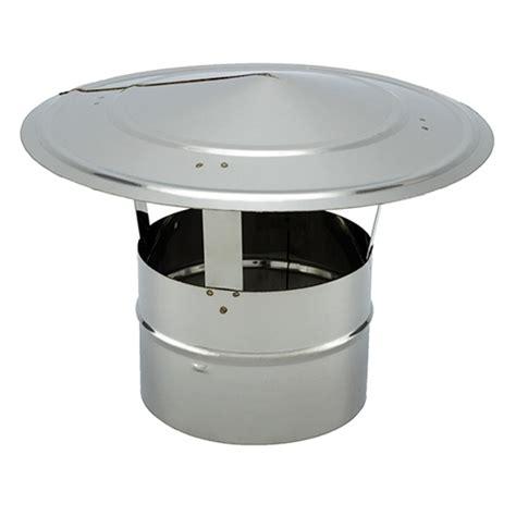 chapeau inox pour cheminée tubage chemin 233 e chapeau simple paroi pro 216 250
