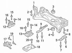 Volkswagen Gti Crossmember  Engine Cradle