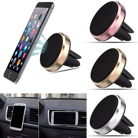 porta telefono auto soporte celular magnetico ventilacion porta celular carro
