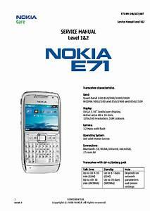 Nokia E71 Rm346 Rm357 Rm407 1 2 Service Manual Download