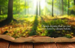 Dream Dreams - Inspirational Quotes   Quotivee