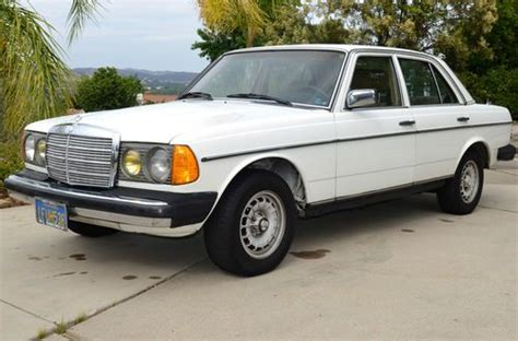 70,000 documented miles since new; Buy used 1982 Mercedes-Benz 300D Turbo Diesel in Westlake Village, California, United States ...