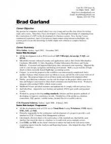 career goals exles for resume sles of resumes