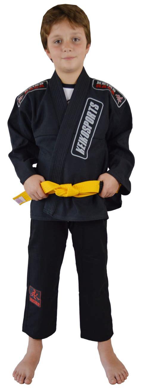 juvenile kimono gi top black keiko sports usa