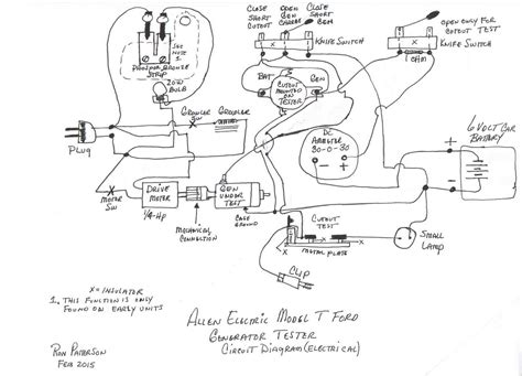 Ford Generator Wiring Diagram by Ford 8n Generator Wiring Diagram Wiring Diagram Database