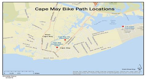 cape may expanding bike paths with njdot grants nj