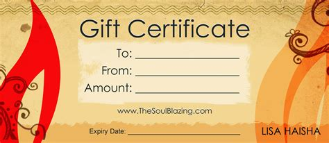 gift certificate template 5 free gift certificate templates certificate templates