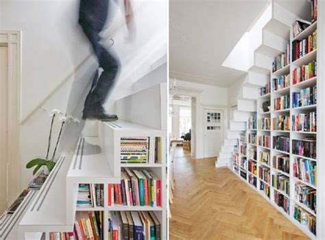 Bookcase Stairs by Fantastic Bookish Staircases Book Recommendations And