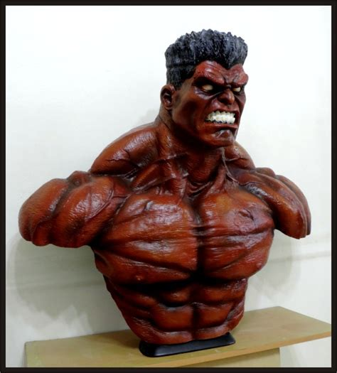 Custom Made Life Size Thunderbolt Ross Red-hulk Superhero