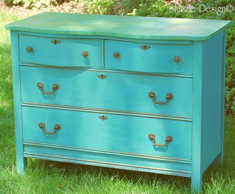 Whimsical Cottage Style Dresser