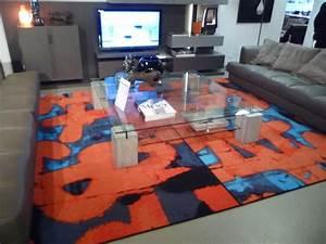 tapis pour roche bobois contemporain salon paris With tapis couloir avec canapé contemporain roche bobois