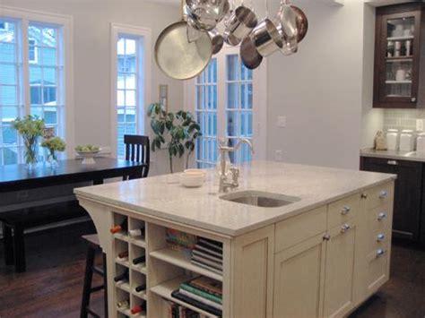 White Palasm Granite - Transitional - kitchen - KItchen Lab