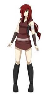Red Hair Naruto OC Female