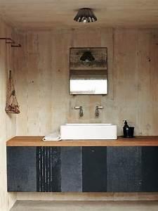 Holz Farbe Anthrazit : waschtisch aus holz f r aufsatzwaschbecken bauen ~ Sanjose-hotels-ca.com Haus und Dekorationen