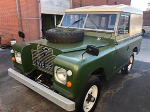 1970 Land Rover Series Iia 88 Wheelbase