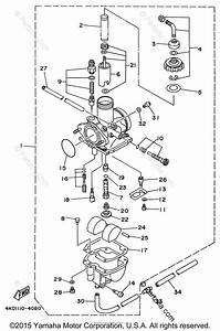 Yamaha Atv 1996 Oem Parts Diagram For Carburetor