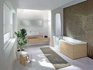 Salle De Bain Douche Baignoire : baignoire et douche les deux en un pour la salle de bains ~ Melissatoandfro.com Idées de Décoration