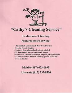 house cleaning services creative marketing materials for With cleaning services advertising templates