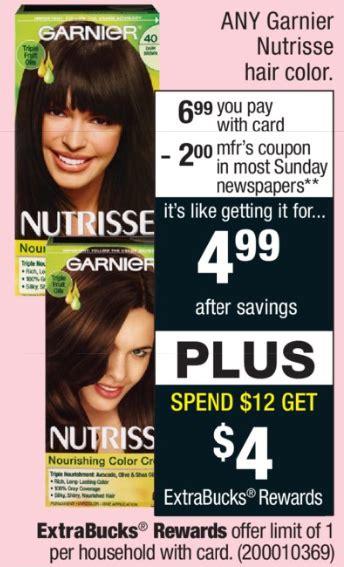 nutrisse hair color coupon new garnier nutrisse hair color coupon cvs deal